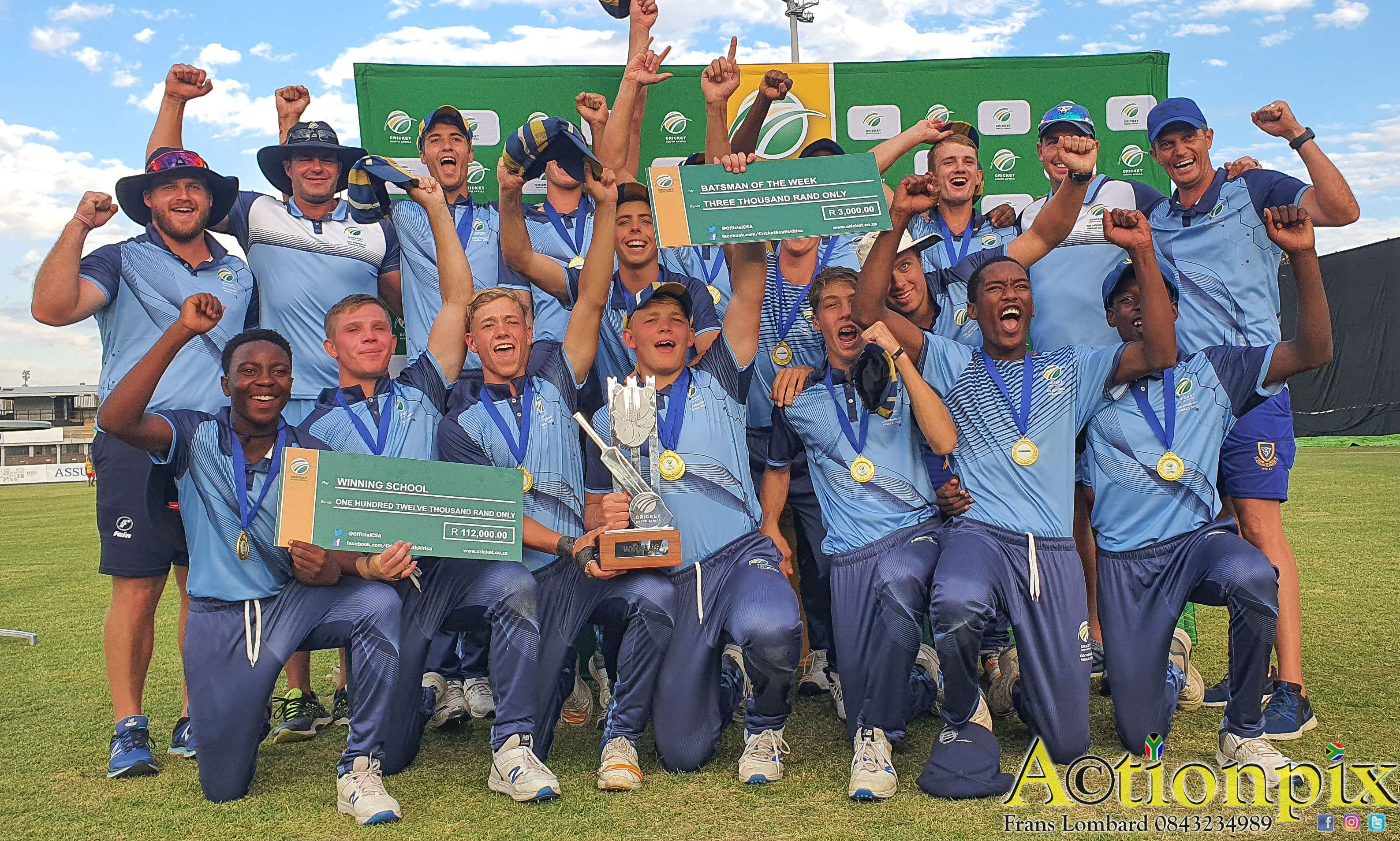 PSX_20200308_173610 School of Cricket | Waterkloof claim CSA Schools T20 Challenge title - School of Cricket